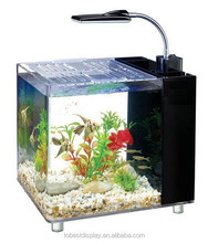 2016 Best seller Aquarium mini acrylic fish tank clear, plastic fish tank wholesale