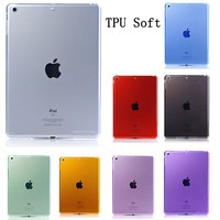 TPU Soft Clear Transparent Case For iPad Air, Case For iPad 5