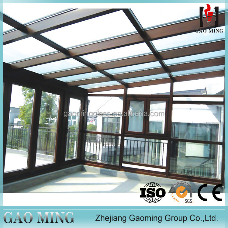 Prices of outdoor aluminum glass sunroom prefab sunroom roof