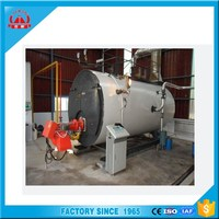 fuel gas oil 5000kg steam boiler for cooking