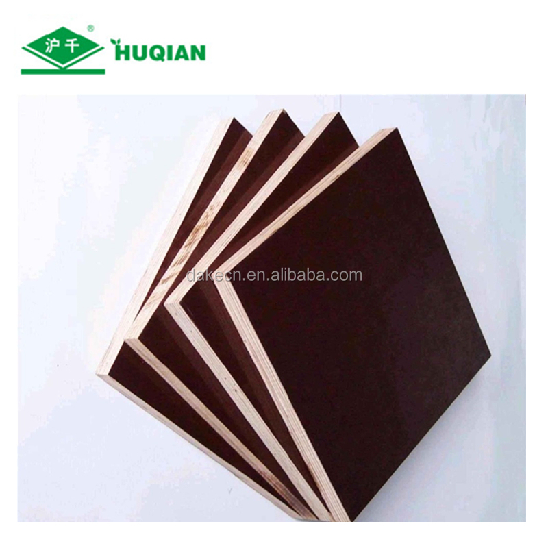 Marine plywood for concrete formwork of lowest price plywood film faced