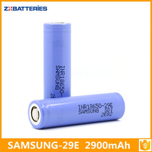 Samsung SDI INR18650-29E 2900mAh 3.7V 18650 29E Rechargeable Battery
