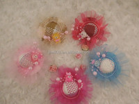 Kids' Hair Clips with Cute Cap