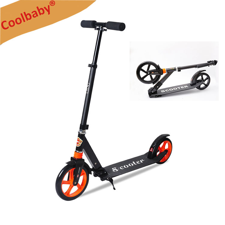 Cute beetle design push kick scooter aluminum kids foot scooter