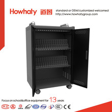 USB type tablet storage and charging cabinet with sync function from China manufacturer