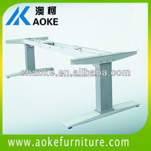 telescopic width and high loading adjustable height workstation