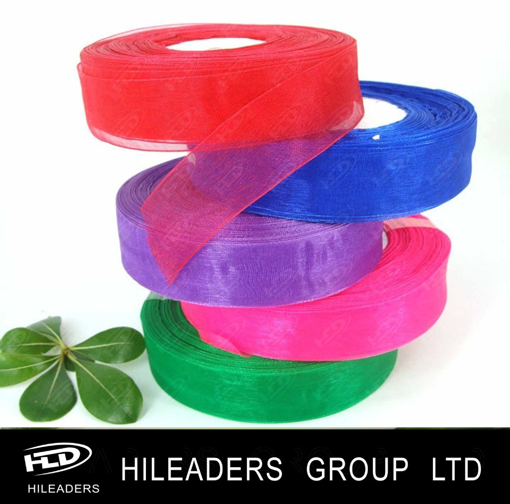 high quality best price organza ribbon in alibaba china