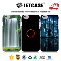 Mobile accessories wholesale smart phone case bulk buy from china best selling 3D PC TPU soft custom cover case for iphone 6