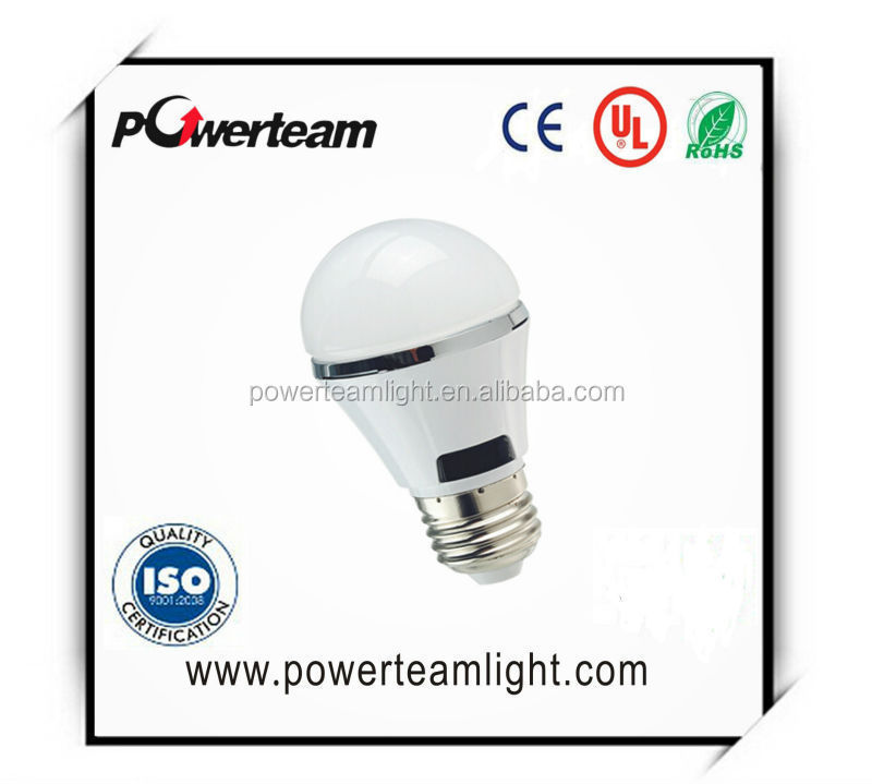 new product led sensing bulb CE Rohs certified corridor smart night light auto on led A19 motion sensor lamp