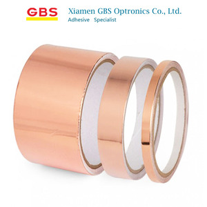 0.06mm EMI Sheilding Copper Foil Tape with Conductive Adhesive