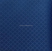 100% polyester jacquard checkered blue oxford cloth
