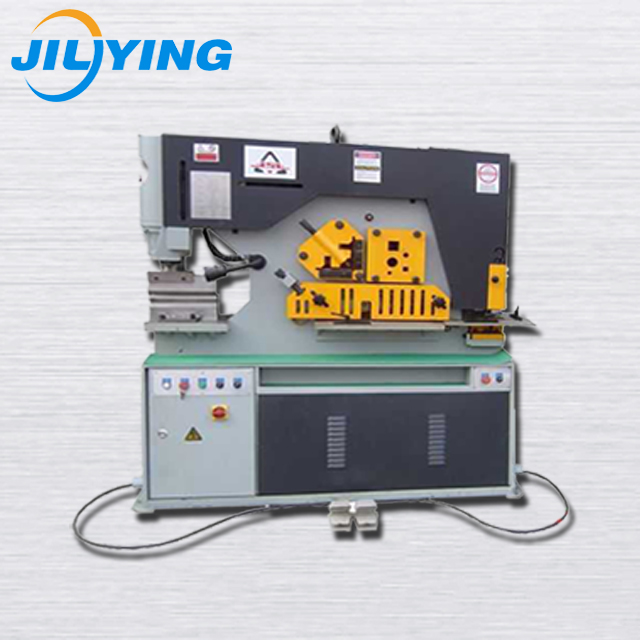 Multi-function Hydraulic Steel Ironworker Punch Puncture Machine