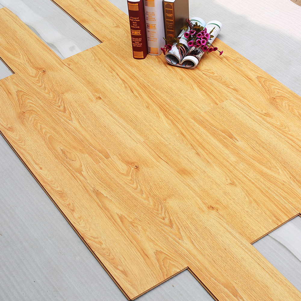 High Density Large Big Embossed HDF waterproof cheap price Laminate Wood Flooring