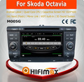Hifimax S160 series Skoda Octavia car dvd android 4.4.4 HD 1024*600 with 4 Core CPU