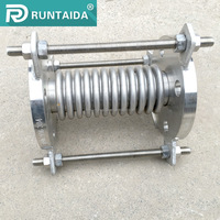 Axial Compensator Tie Rod Expansion Joint With Flange