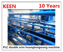PLC automatic industrial Diamond wire mesh net making machinary/chain link fence making machine with CE