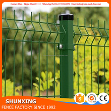Beautiful colored garden decoration used Cheap Wire Mesh fence panel