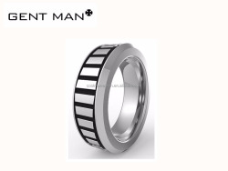 Coolman latest setting 316L stainless steel jewelry casting man rings
