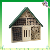 Garden Item FSC outdoor small wild wooden insects box natural color made in China