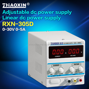 ZHAOXIN RXN-305D 150W Single Output Type 30V 5A linear dc power supply