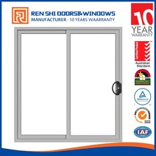 New design fire rated glazing aluminum framed double glazed sliding window