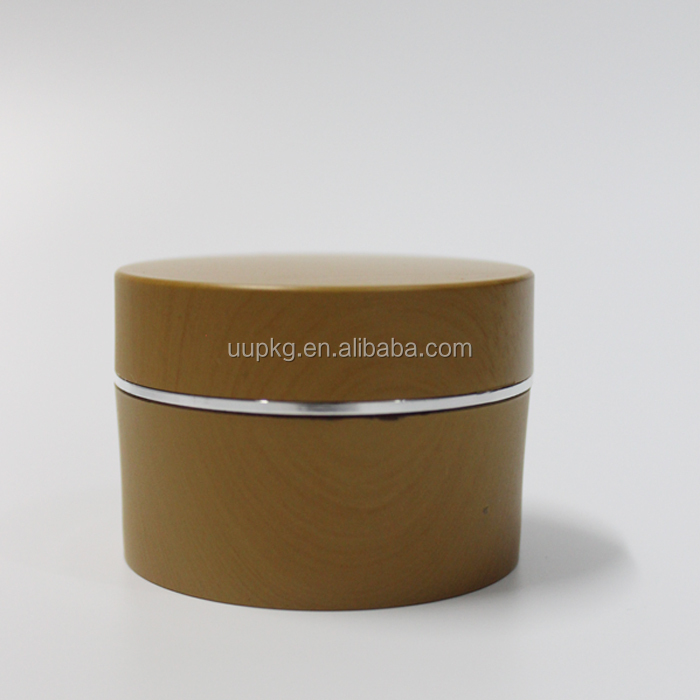 UU packaging 50ml bamboo cosmetic container