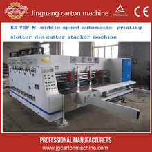 The semi automatic corrugated carton box printing making machine small