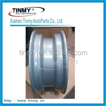 Automotive steel wheel rim car wheel