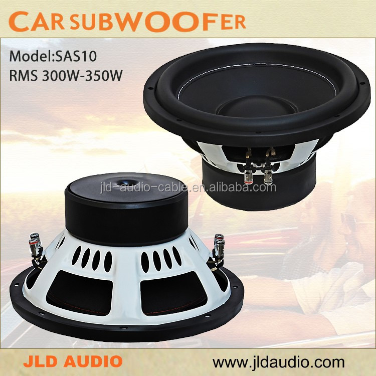 8inch small car audio speaker subwoofer DC 12V 80-90dB