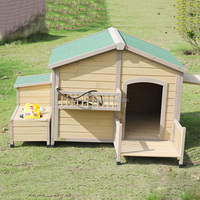 Outdoor Hot Sales Large Wooden Cheap Dog Kennel