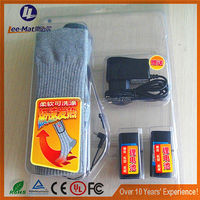 Suitable winter warm socks electric heating battery powered socks wool rechargeable cheap socks