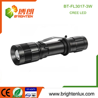 Hot Sale Aluminum materail Adjustable Focus Pocket hand rechargeable flashlight