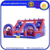new inflatable obstacle slide, inflatable combo G5049