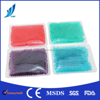Gel beads hot cold pack pearl pack warm body medical therapy