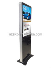 wholesales price 55inch six vedio media ad player floor stand LCD AD Player lcd monitor usb media advertising player
