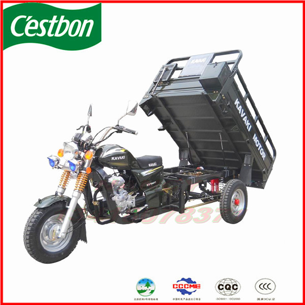 Guangzhou big size 150cc 200cc 250cc cargo 3 wheel motorcycle