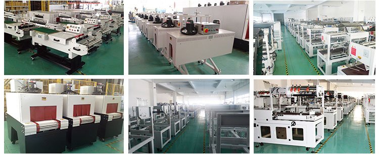New Condition Automatic Sections Motion Shrink Wrap Machine for Long Products