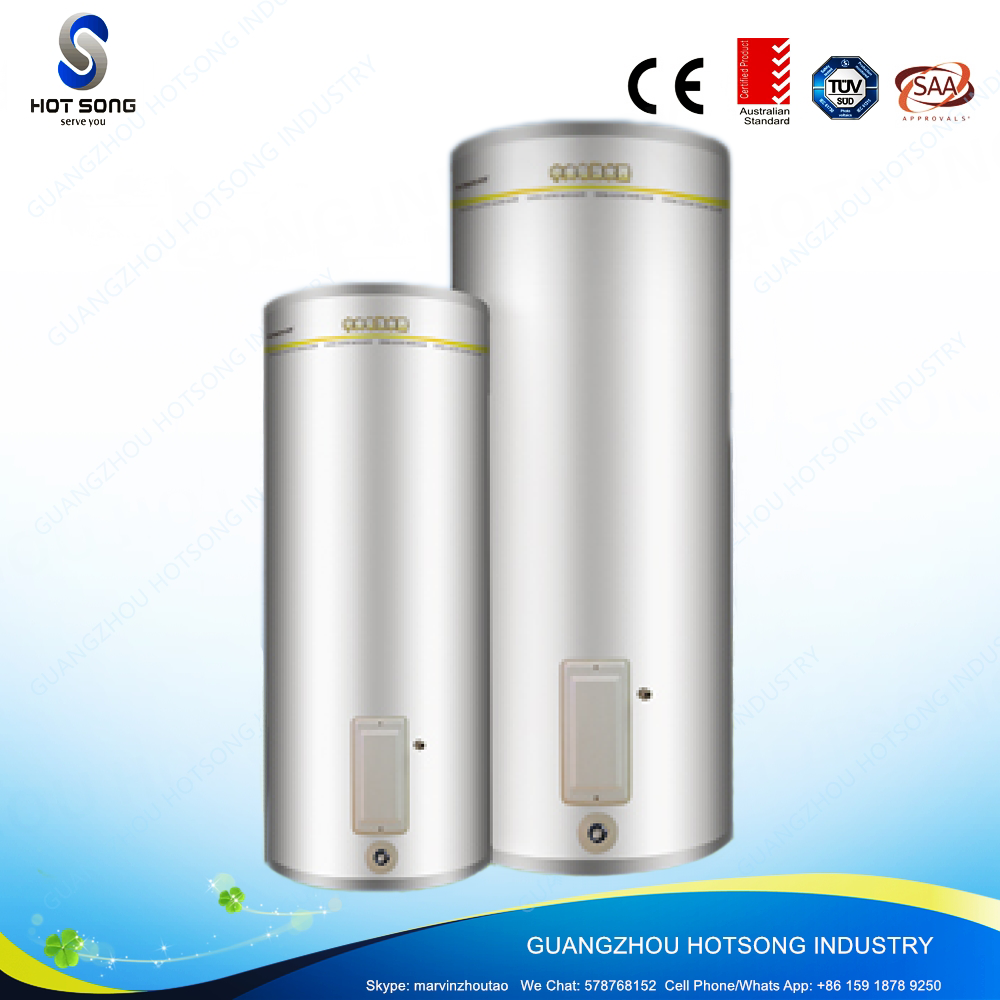 450L commercial enamel coated steel tank electric bath water heater