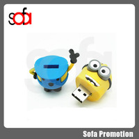 wholesale 2015 New product OEM 8gb minions pendrive usb