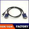Good Speed New product for keyword and mouse 2-in-1 USB KVM cables KVM VGA 15 Pin Male to Male Cable