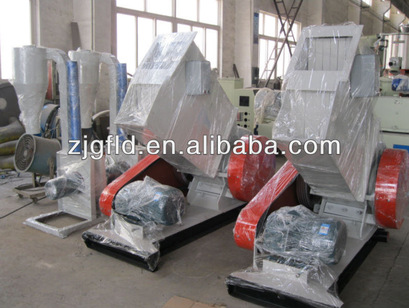 PE PVC pipe plastic crusher/plastic shredder