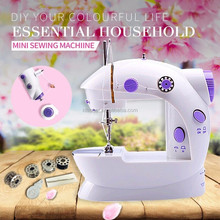 Lockstitch mini tailor sewing machine with double thread