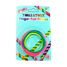 Interactive Games Classic Toys String Cats Cradle Twist Finger Creative Finger Toy Rainbow Rope For Kids