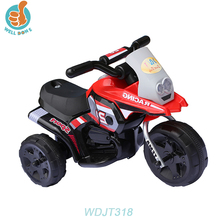 WDJT318 2018 Hot Selling Cheap Baby Electric Mini 3 Wheels Motorcycle Children Racing Toy For Kids Toys Popular