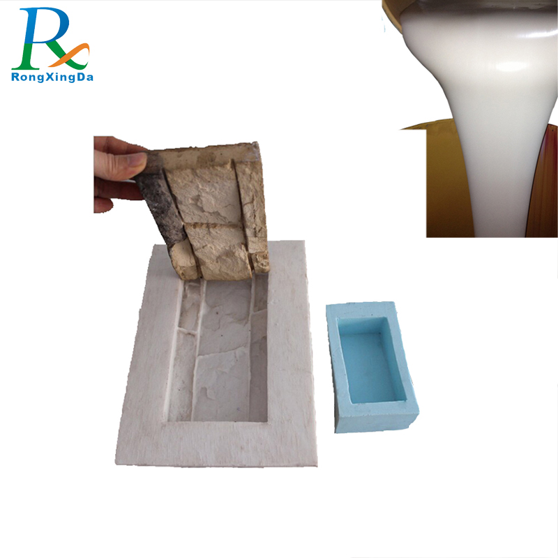 Two component rtv silicone rubber for plaster/gypsum casting cornice mold