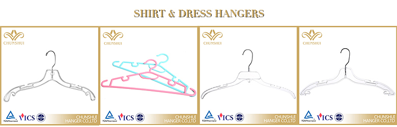 antislip plastic suit hangers with Hook