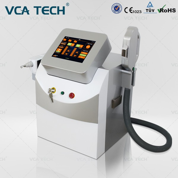 HOT Arrival 1064nm/532nm Q-Switch Laser Machine/Nd Yag Tattoo Removal/Elight Hair Removal