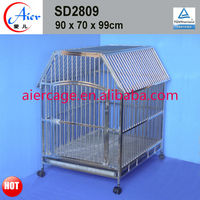 pet strong metal house stainless steel cages for pet dogs