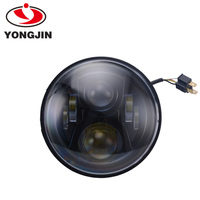 7inch universal auto parts led light head lamp for harley