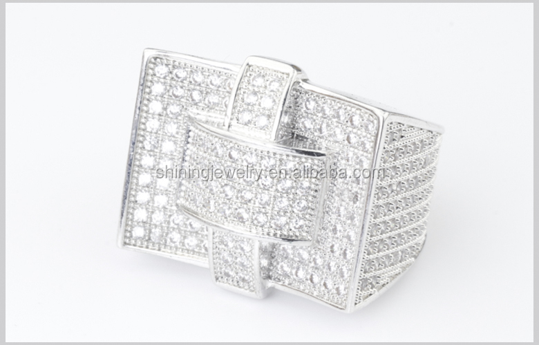 ebay wholesale 925 sterling silver micro pave iced out cz mens ring